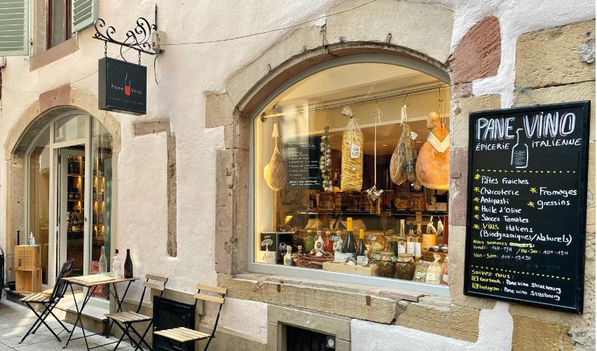 épicerie italienne strasbourg centre cave a vins italiens pâtes fraiches